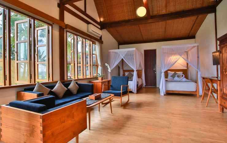 Villa Solong Banyuwangi Banyuwangi - Premier Cottage Ocean Twin Bed