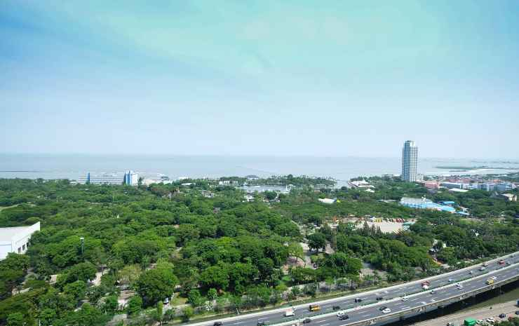 Best View 3BR Apartment Northland Ancol Residence by Travelio