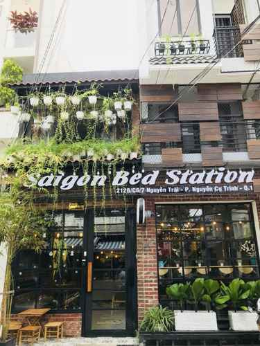 EXTERIOR_BUILDING Saigon Bed Station Homestay