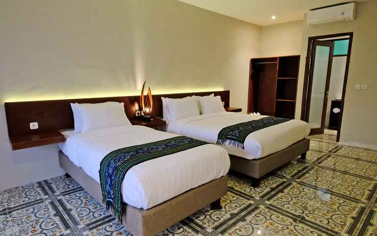 The Nalaya Hotel & Resto  Magelang - Triple Room with Pool View