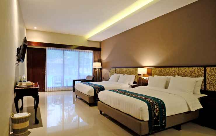 The Nalaya Hotel & Resto  Magelang - Family Room with Pool View