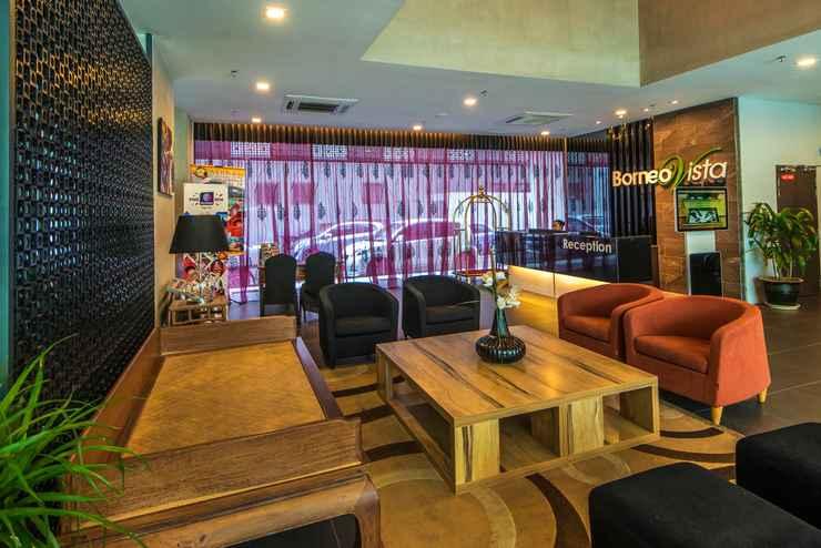 LOBBY Borneo Vista Suites Hotel by BV Hotel