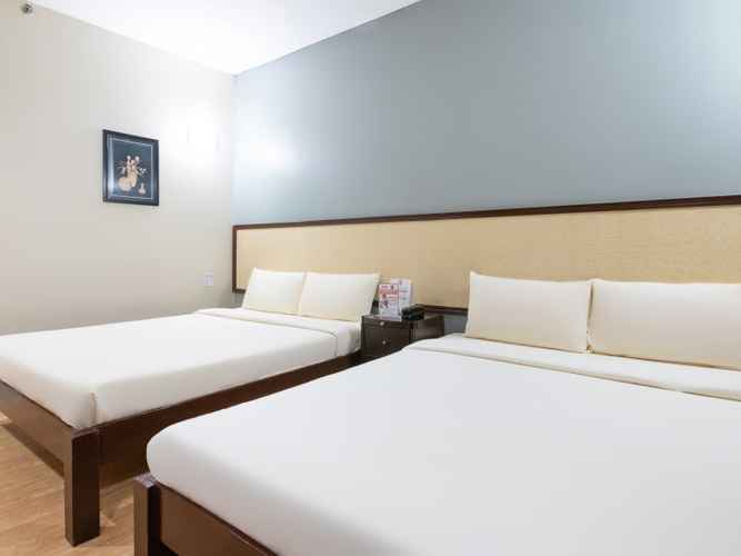 BEDROOM OYO 110 Asiatel Hotel