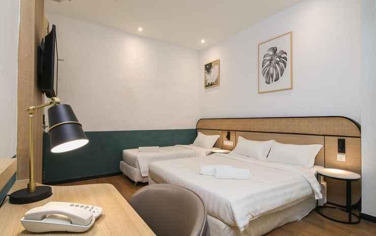 Season Point Hotel  Kuala Lumpur - Family Room (No Window & Three Sharing)