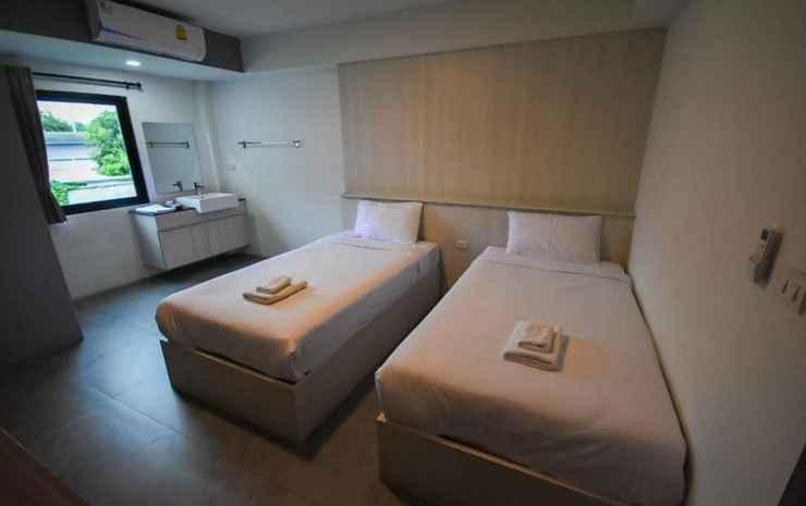 F Plus F Hotel Chiang Mai - Twin Bedroom