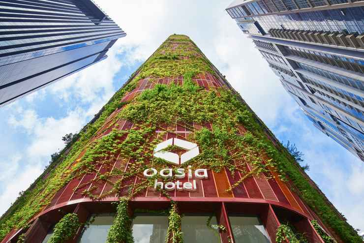 EXTERIOR_BUILDING Oasia Hotel Downtown, Singapore, by Far East Hospitality (SG Clean)