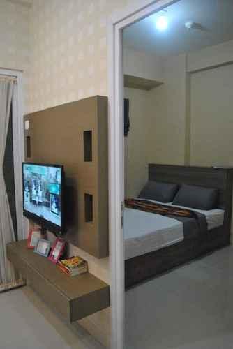 BEDROOM Apartemen green pramuka type 2 bedroom by agape