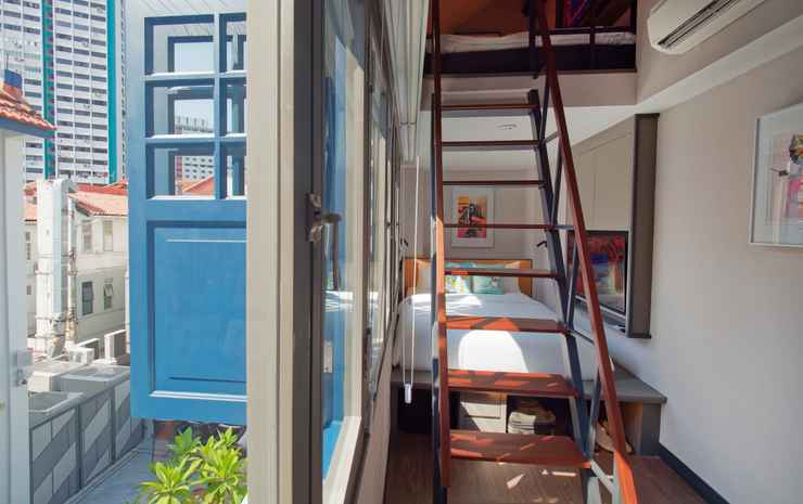 Hotel Soloha @ Chinatown Singapore - Family Loft - Room only rate Non-Refundable