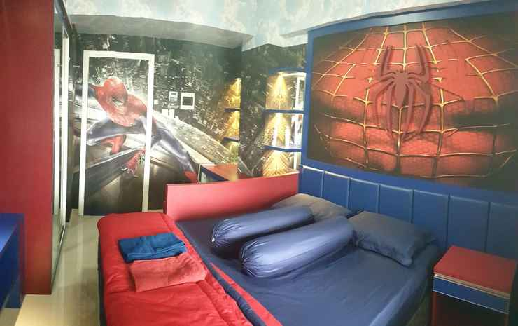 Spiderman Room at Student Castle B210 Yogyakarta Yogyakarta - Studio (Max check in 22.00)