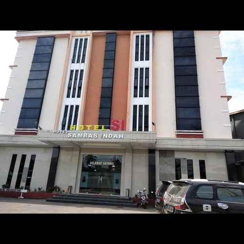 EXTERIOR_BUILDING Hotel Sambas Indah
