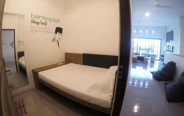 The Packer Lodge Yogyakarta Jogja - Deluxe Double Room