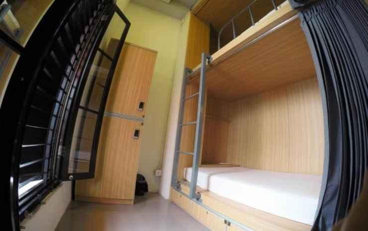 The Packer Lodge Yogyakarta Jogja - Deluxe Twin Room with Window