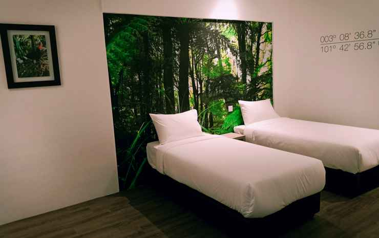 H Boutique Hotel Xplorer Loke Yew Kuala Lumpur - Deluxe Twin Room Without Window