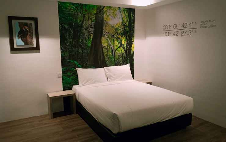 H Boutique Hotel Xplorer Loke Yew Kuala Lumpur - Superior Queen Room Without Window