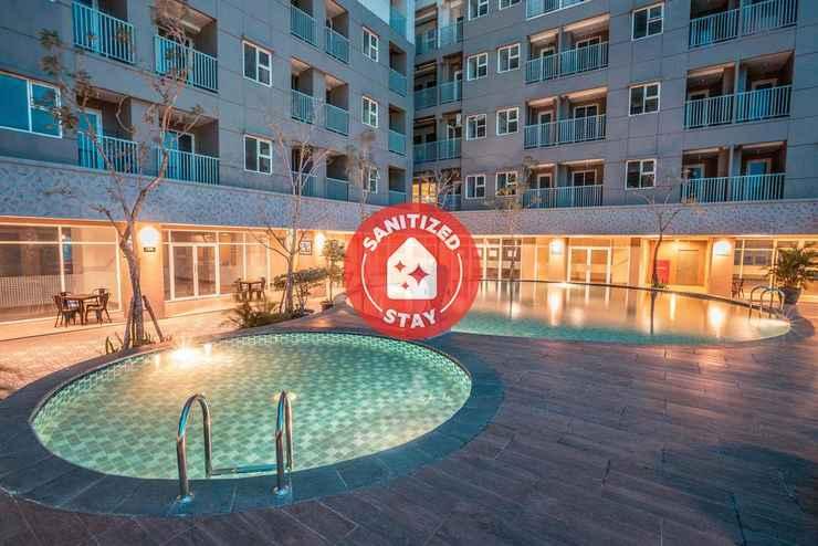 SWIMMING_POOL OYO Flagship 728 Baileys Apartment Near RS Aria Sentra Medika