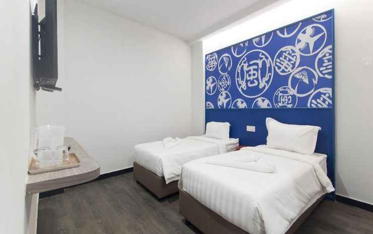 Kitez Hotel & Bunkz Kuala Lumpur - Deluxe Twin