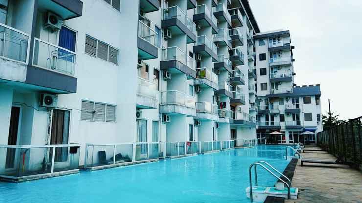 SWIMMING_POOL Golom Alpha Room by Vivo Apartment