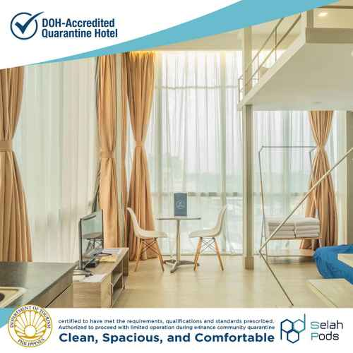 BEDROOM Selah Pods Hotel Manila  (Quarantine Hotel)