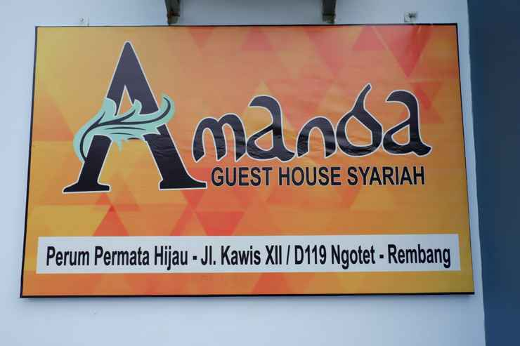 EXTERIOR_BUILDING Amanda Guest House Syariah