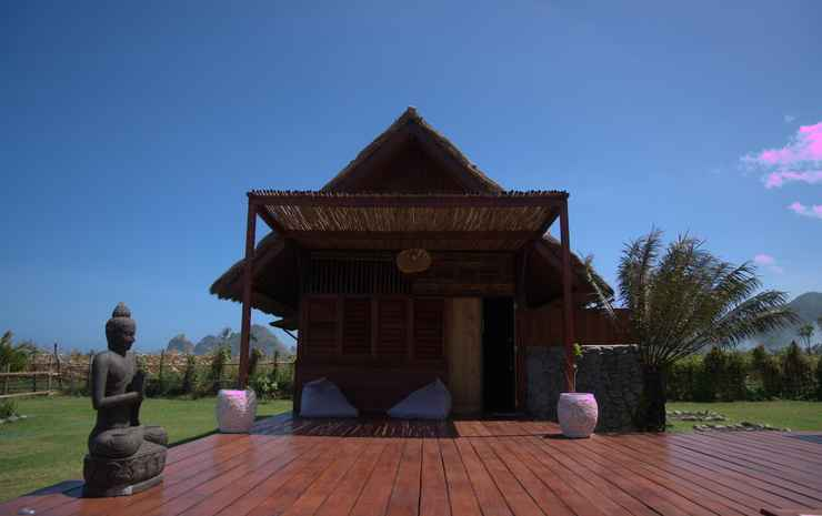 Naia Resort Beach Club Sumbawa Sumbawa Barat - Bungalow Deluks, pemandangan laut