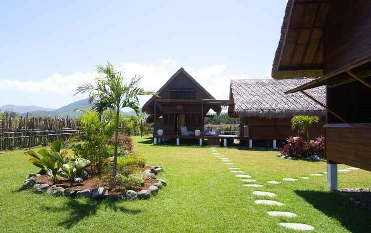 Naia Resort Beach Club Sumbawa Sumbawa Barat - Bungalow Standar, pemandangan kebun