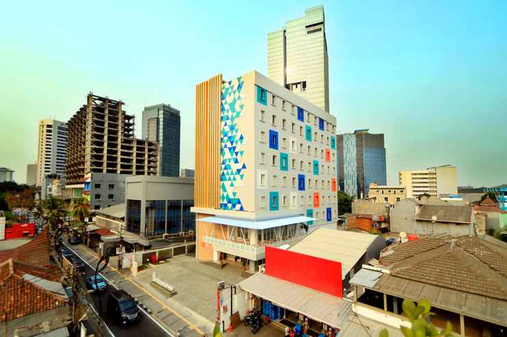 EXTERIOR_BUILDING Dafam Express Jaksa Jakarta