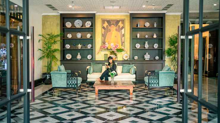 LOBBY Hotel Des Indes Menteng