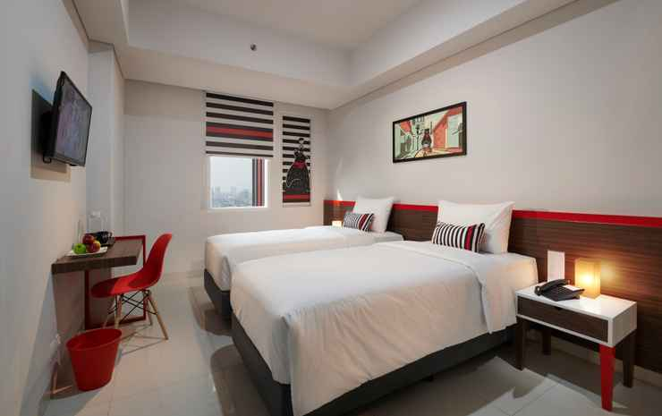 Hi Hotel Senen Jakarta - Superior Twin Room include Breakfast
