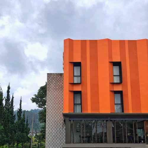 EXTERIOR_BUILDING Grand Metro Hotel Puncak