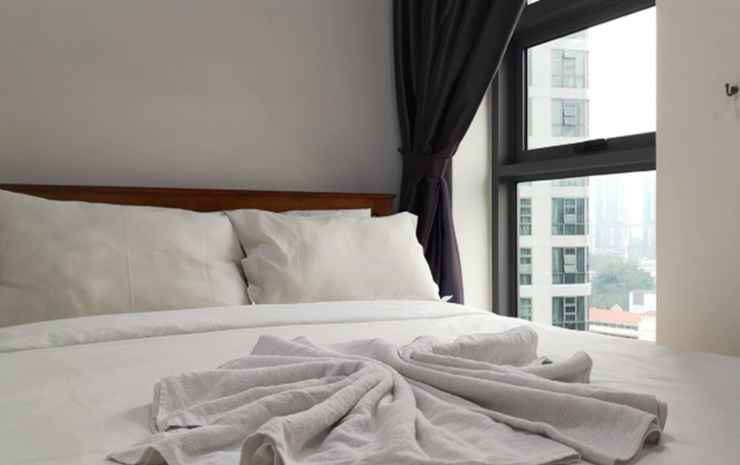 Golden Homestay@ The Robertson Bukit Bintang Kuala Lumpur - Deluxe Two Bedroom Suite with KLCC View