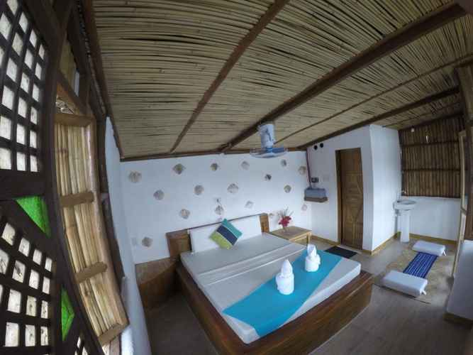 BEDROOM Borac Bay Bunggalows and Spa
