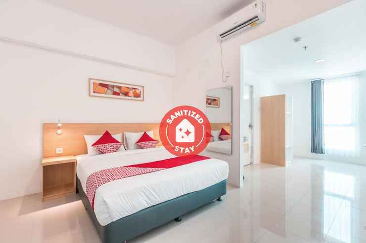 BEDROOM OYO Flagship 1170 The Habitat Karawaci Near RS Siloam Karawaci