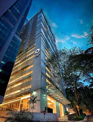 EXTERIOR_BUILDING Oasia Suites Kuala Lumpur by Far East Hospitality
