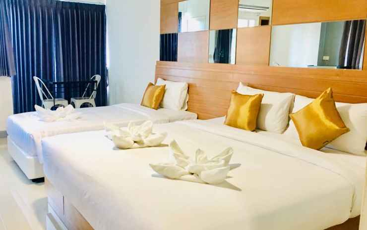 The Greenery Central Suites & Hotel  Chiang Mai - Deluxe 1 King Bed and 1 Single Bed