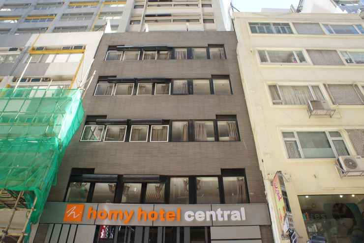 EXTERIOR_BUILDING Homy Hotel Central