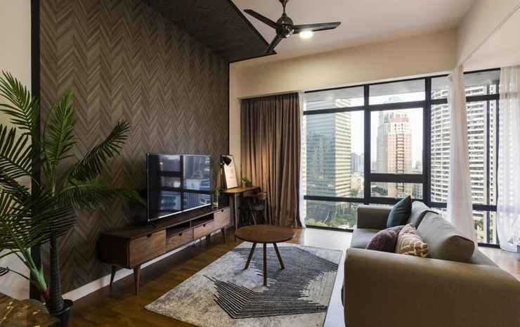 Anggun Luxury Suite @ KLCC Kuala Lumpur - Deluxe Queen Studio