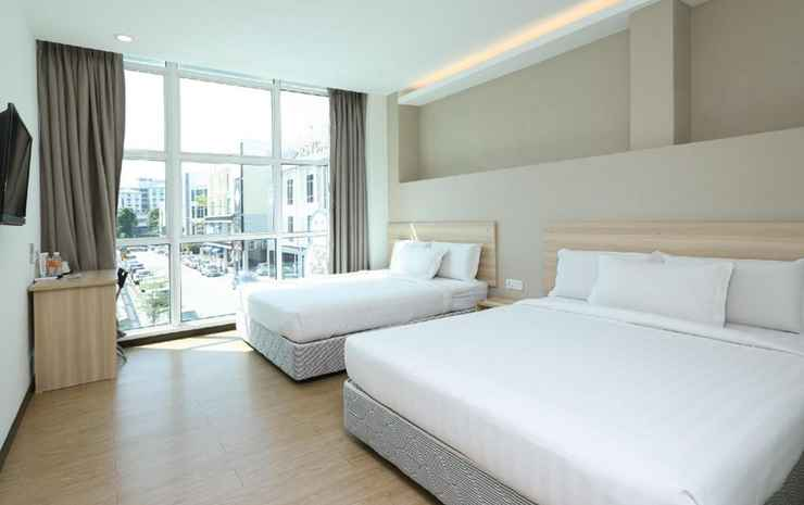 Orange Hotel Sri Petaling @ Bukit Jalil Kuala Lumpur - Deluxe Family