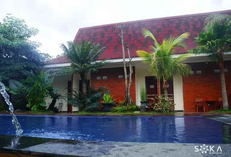 SWIMMING_POOL Soka Guest House Syariah