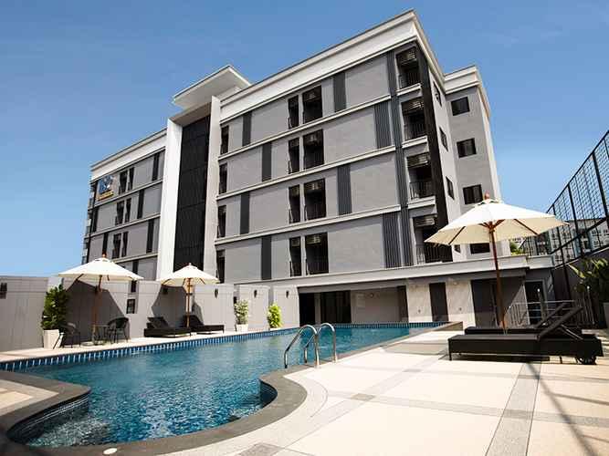 EXTERIOR_BUILDING โรงแรมบีทู อมตะนคร พรีเมียร์