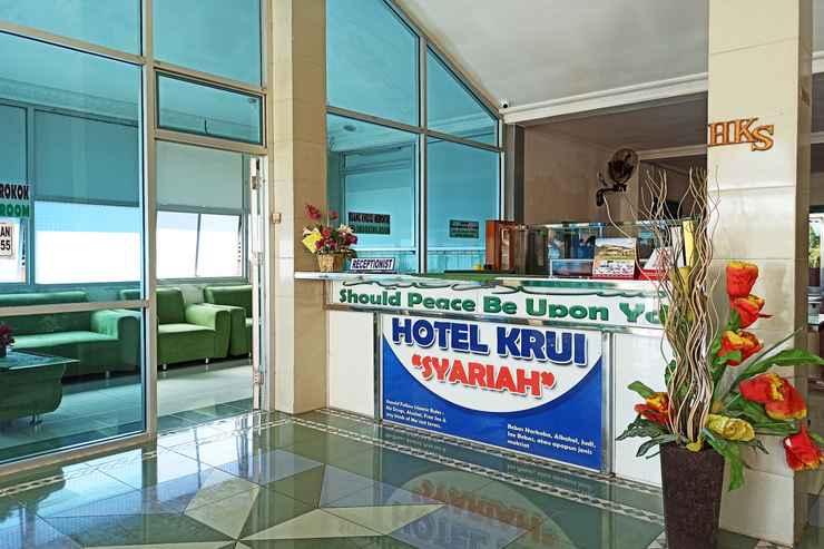 LOBBY OYO 2611 Hotel Krui Syariah