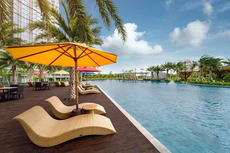 SWIMMING_POOL Oakwood Apartments PIK Jakarta (Pantai Indah Kapuk)