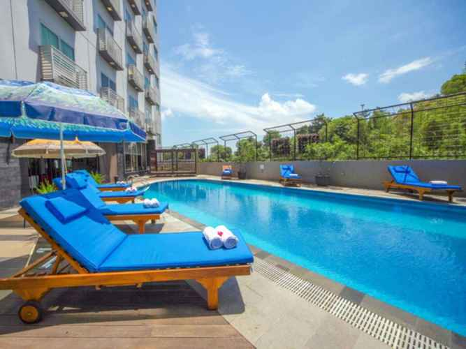 SWIMMING_POOL Studio Apartemen Nagoya Mansion (A912) for 5 Pax by Max