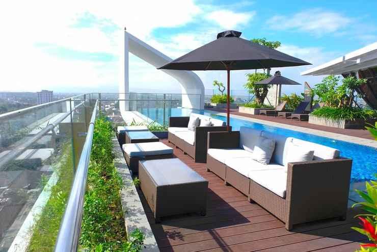 SWIMMING_POOL Nginap Jogja Apartemen Uttara (Best View of Merapi)