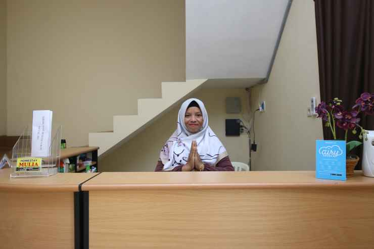 LOBBY Airy Eco Syariah Borobudur Mayor Kusen 1 Magelang