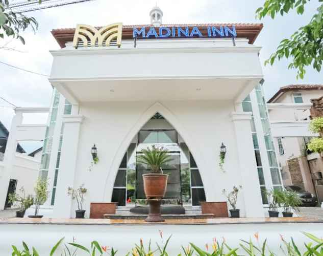 EXTERIOR_BUILDING Madina Inn Hotel