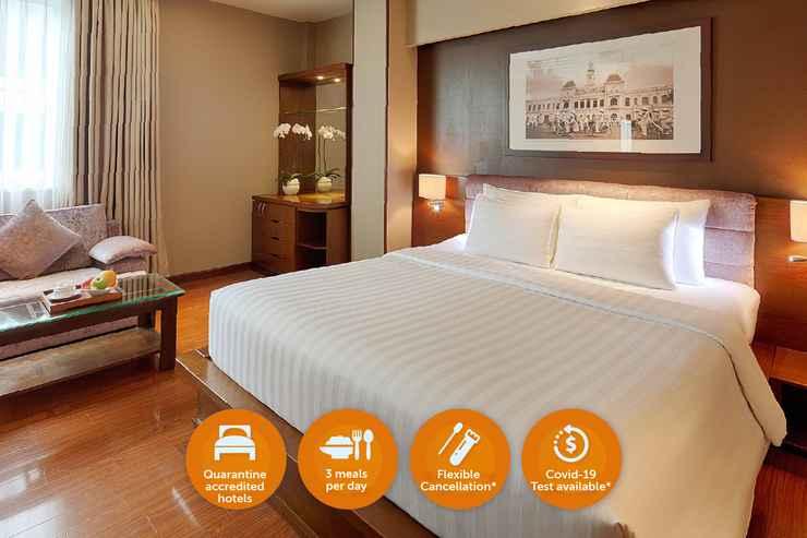 BEDROOM Quarantine Hotel - Grand Silverland Hotel & Spa