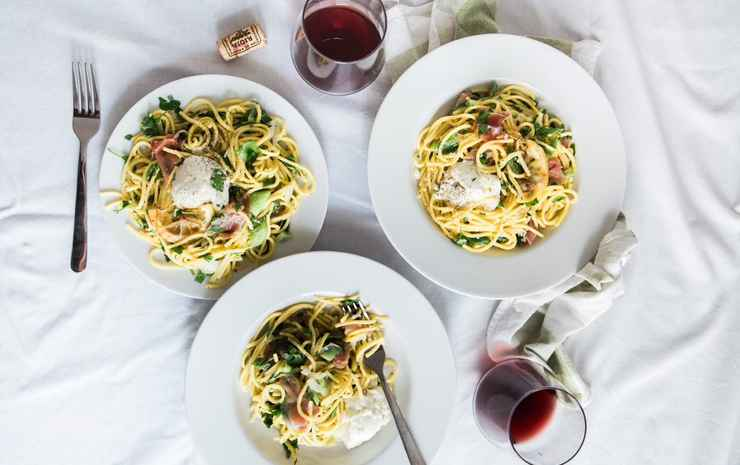 Wanderlust, The Unlimited Collection by Oakwood Singapore - Couples' Night In Studio Premier with Complimentary Pasta Kit and a bottle of Wine or Sparkling Juice
