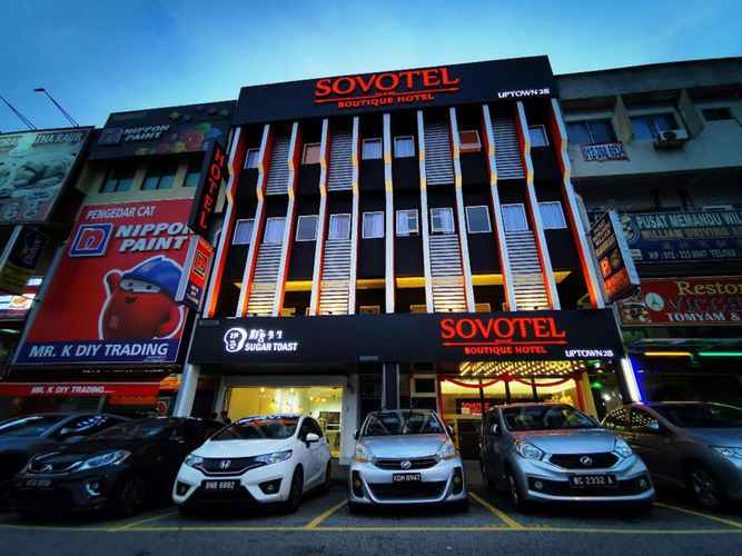 EXTERIOR_BUILDING Sovotel Boutique Hotel @ Uptown 28 - Buy Now Stay Later