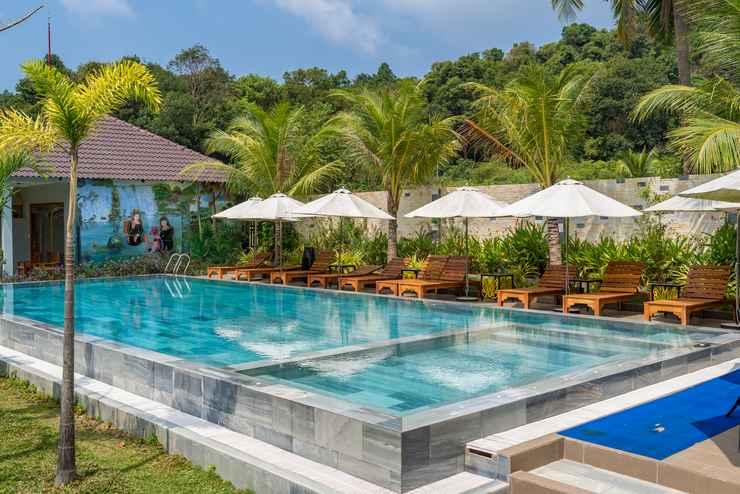 SWIMMING_POOL Suoi May Garden Resort & Spa