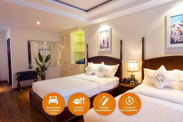 BEDROOM Khách Sạn Cách Ly - Alagon City Hotel